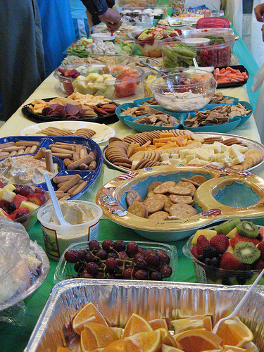 Potluck Table